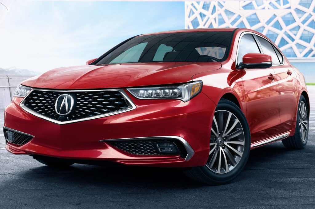 2018 Acura TLX Facelift New Aggressive Grille And A