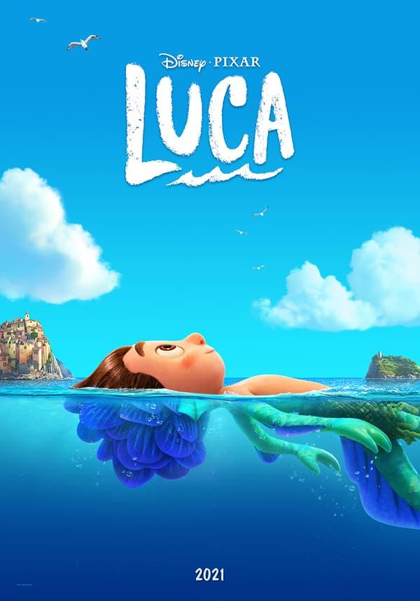 """Affiche de """"Luca"""", le nouveau film de Pixar"""
