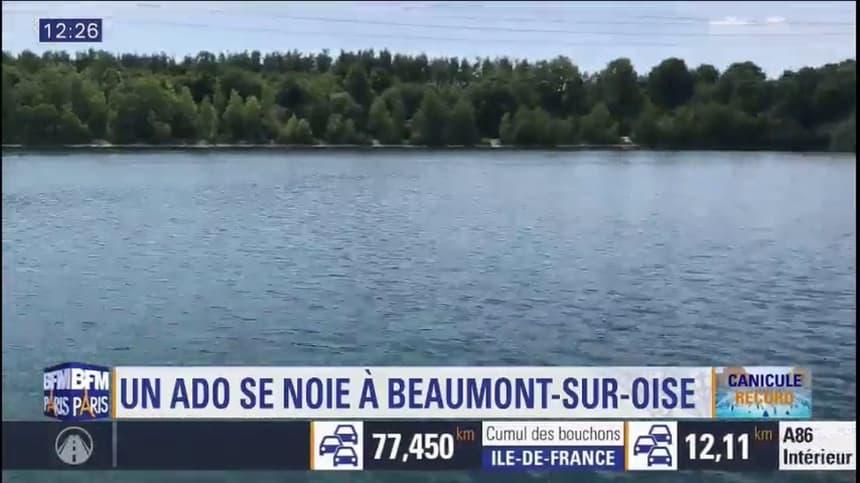 un ado s est noye au lac des ciments un lieu interdit a la baignade qui continue d attirer
