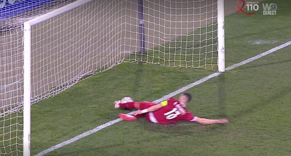 Le but refusé à Ronaldo