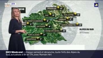 Météo Alpes du Sud du 25 avril: beaucoup de soleil ce dimanche malgré quelques nuages, jusqu'à 21°C cet après-midi