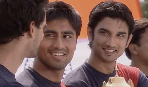 A glimpse of Sushant from the show Kis Desh Mein Hai Mera Dil.