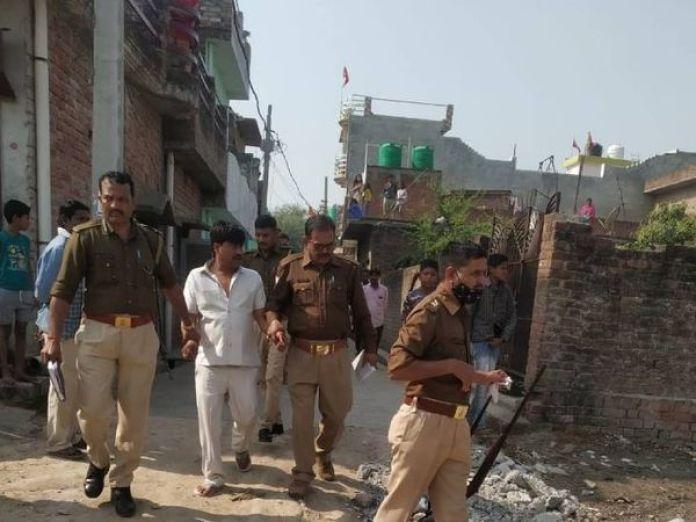 पुलिस ने आरोपी पति को गिरफ्तार कर लिया है। - Dainik Bhaskar