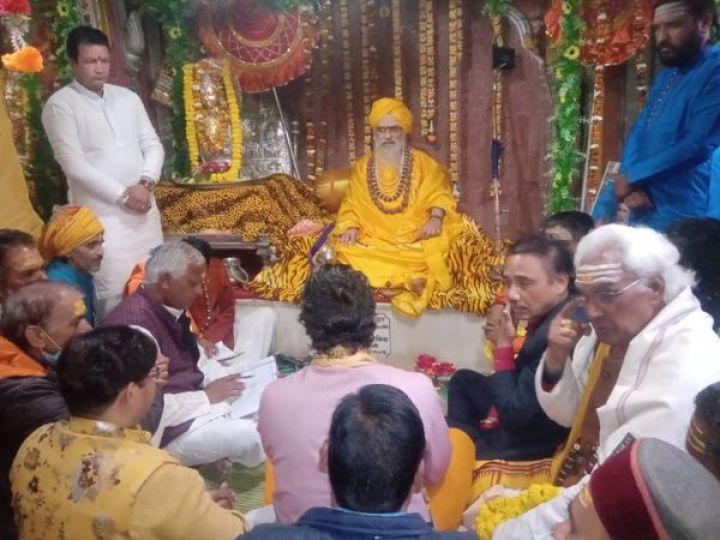 भीमांशंकर लिंग केदारनाथ के रावल हैं। इनकी उपस्थिति में ही कपाट खोलने की तारीख तय की गई है। - Dainik Bhaskar