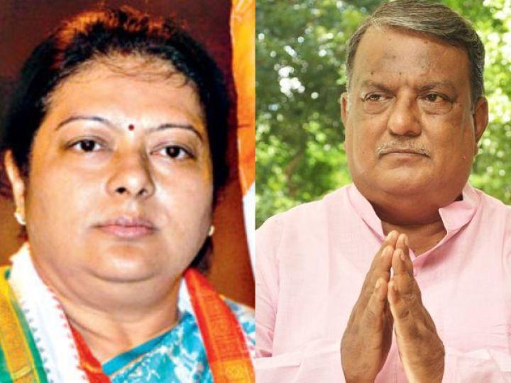 भाजपा ने शिखा मित्रा को चौरंगी और तरुण साहा को काशीपुर बेलगछिया से टिकट दिया था, लेकिन दोनों नेताओं ने भाजपा के टिकट पर चुनाव लड़ने से इनकार कर दिया। - Dainik Bhaskar