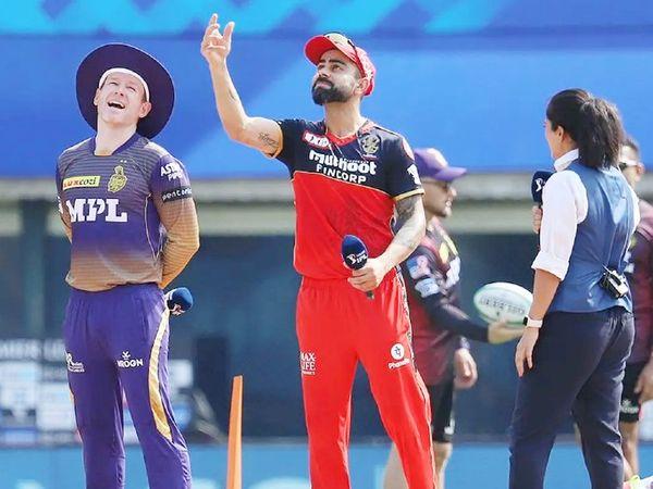 विराट कोहली की कप्तानी वाली बेंगलुरु और ओएन मोर्गन की कोलकाता टीम का मैच सोमवारा को होना था, जो कोरोना के कारण टाल दिया गया।