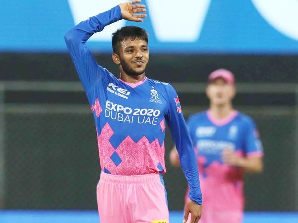 Chetan Sakaria took 7 wickets in his first  IPL in 7 matches at an economy rate of 8.22.  He took the wickets of MS Dhoni, Lokesh Rahul and Mayank Agarwal.  He has taken 35 wickets in 23 T20 matches playing for Saurashtra at an economy rate of 7.44.
