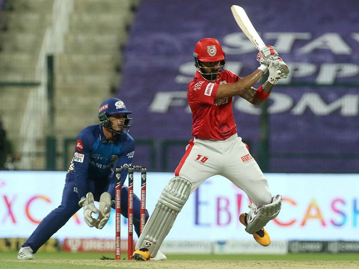 Punjab captain Lokesh Rahul completed 500 runs against Mumbai.  However, Rahul could not do anything special in this match.