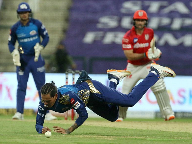 Rahul Chahar also took two wickets.  He dismissed Lokesh Rahul and Glenn Maxwell.