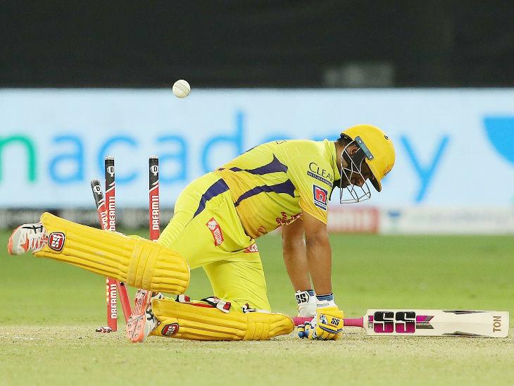 Ambati Rayudu of Chennai Super Kings scored the highest 42 runs off 40 balls.  Issuru Udana bowled him clean.