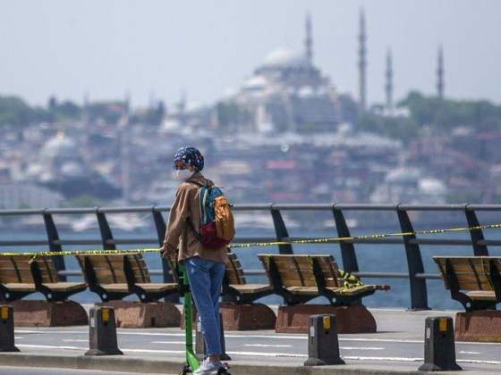 The government has made masking mandatory in Istanbul, Turkey.  On Tuesday, 32 thousand 104 new infections were found in the country.  (File)