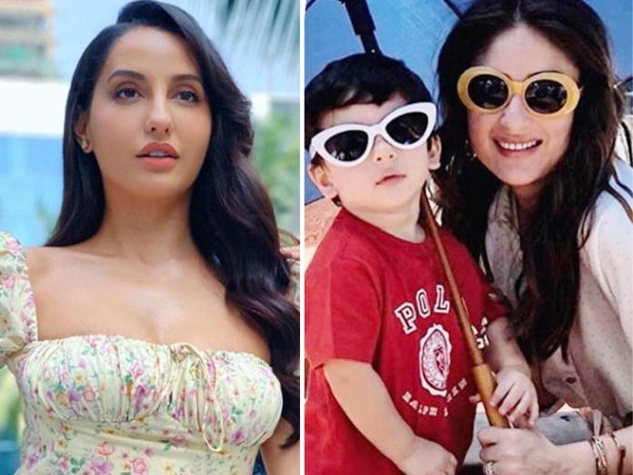नोरा की ख्वाहिश: 28 साल की नोरा फतेही ने जताई तैमूर अली खान से शादी की इच्छा, जवाब में करीना ने कहा- अभी वह 4 साल का है