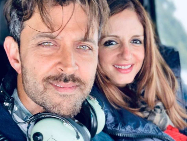Reaction: Sussanne Khan calls herself a boy by sharing the photo, Ex-Husband Hrithik Roshan posts funny comment on Sussanne Khan's post