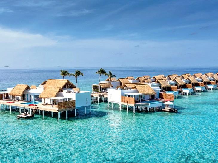 चीन, जापान के पर्यटक 98 फीसदी घटे:कोरोना से बचने पहली पसंद बना मालदीव, भारतीय पर्यटक 50% बढ़े; सस्ती उड़ानें, आसान नियम ने बढ़ाया आकर्षण
