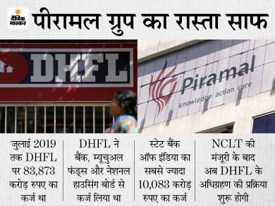 डीएचएफएल की बिक्री पर लगी मुहर: NCLT ने पीरामल ग्रुप के ऑफर को दी सशर्त मंजूरी, 37,250 करोड़ रुपए की लगाई है बोली