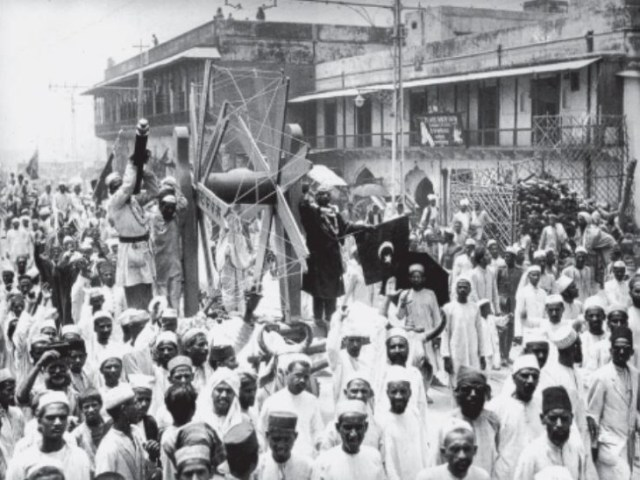 The Swadeshi movement started after the decision of partition of Bengal and the spinning wheel became a symbol of this movement throughout the country.