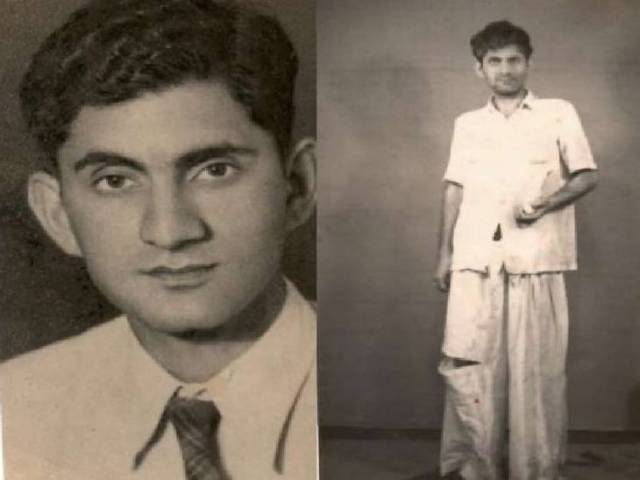 Anand Bakshi also acted in plays.