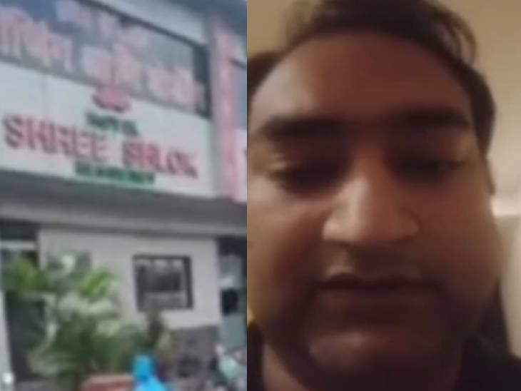 Vishnu Mishra, the MLA's son from Shree Shlok Hotel in Mumbai, has shown his presence in Mumbai by making a video, while Bhadohi police has declared him absconding after the raid.