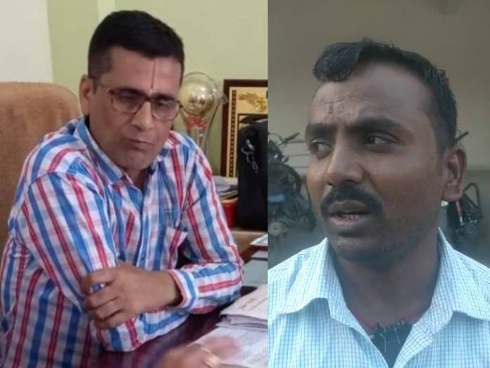 JD Ram Mohan Tiwari, accused in Chashma, and Mohammad Gulzar, son of youth brother Anisha Begum.
