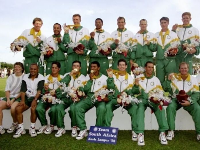 Cricket was included in the 1998 Commonwealth Games.  Then South Africa won the gold.