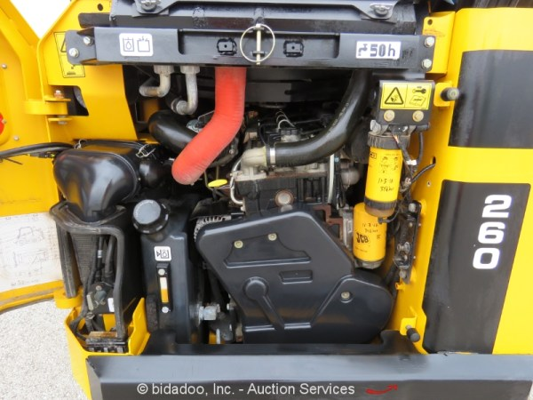 2014 JCB 260 ECO Skid Steer Wheel Loader Heated Cab Aux ...