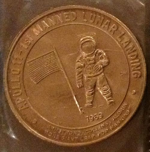 Numismatic collectables Very Unique 5 NASA Kennedy