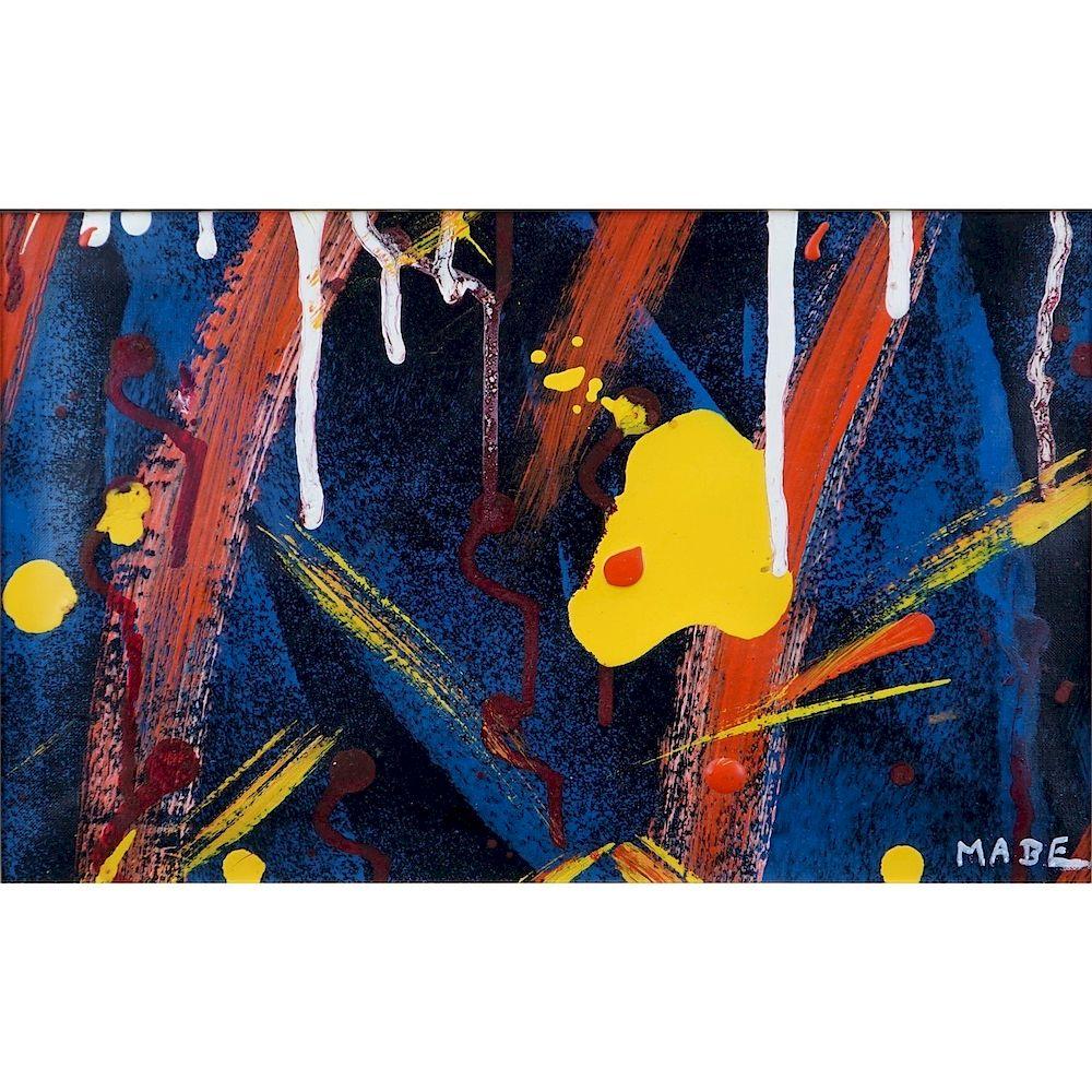 Manabu Mabe Brazilian/Japanese (1924–1997) O/C