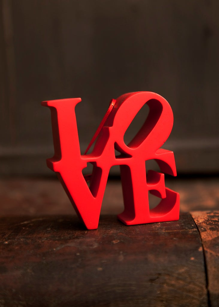 We Heart Philly Red Love Ornament