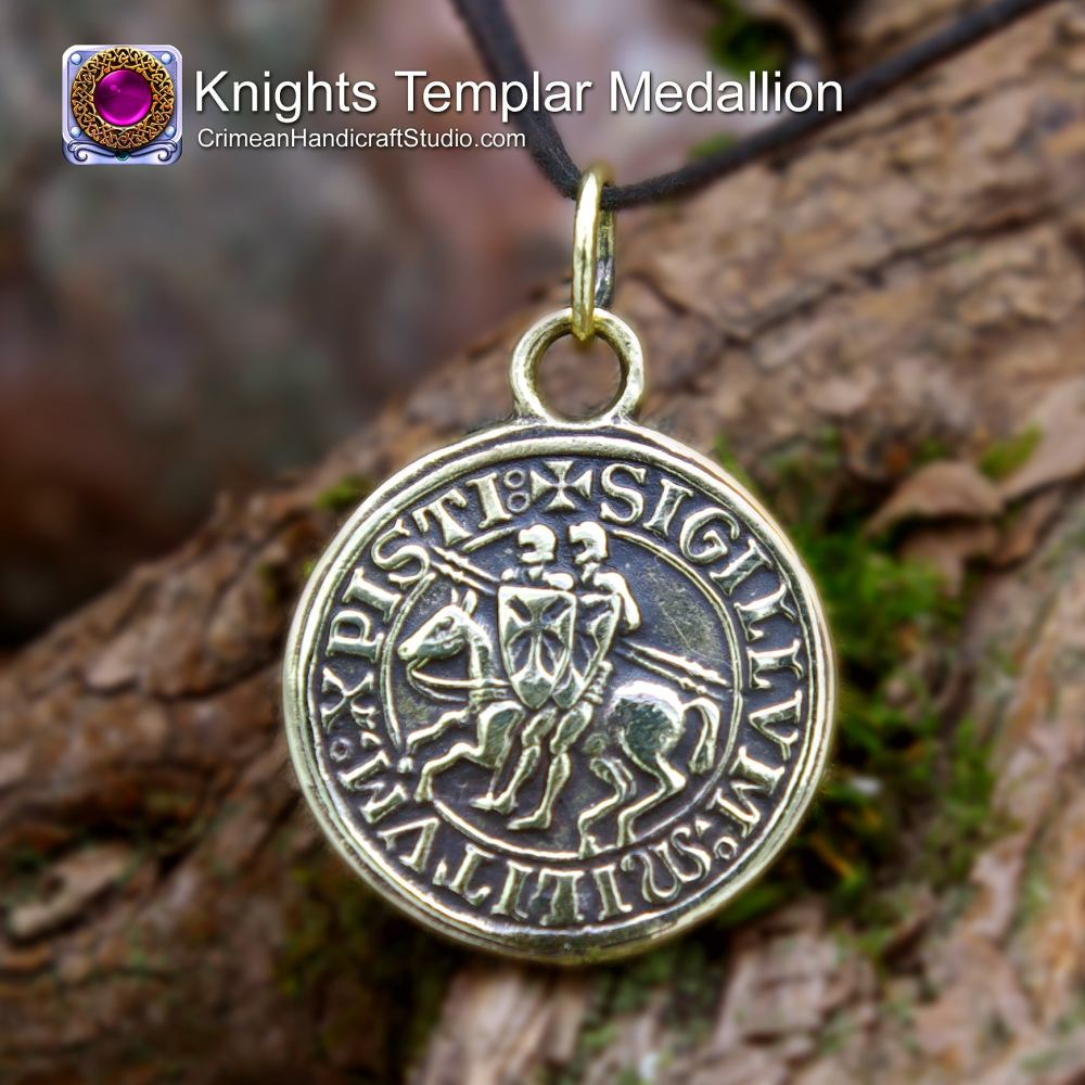 Knights Templar Medallion