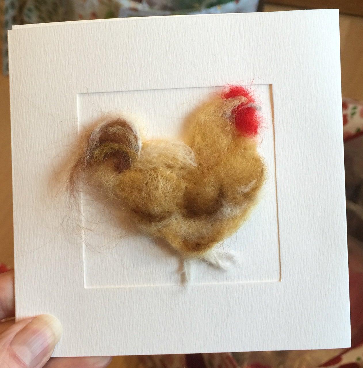 Chicken Card Abigail Rayner