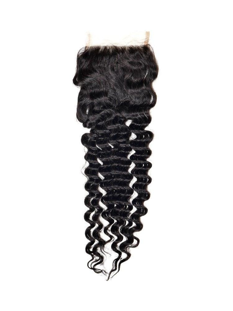 Brazilian Deep Wave Closure HairByMilanParis