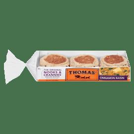 Thomas39 Cinnamon Raisin English Muffins