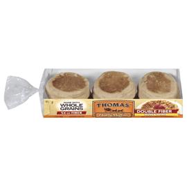 100 Whole Wheat English Muffins Thomas39