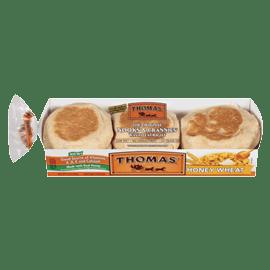 Honey Wheat English Muffins Thomas39