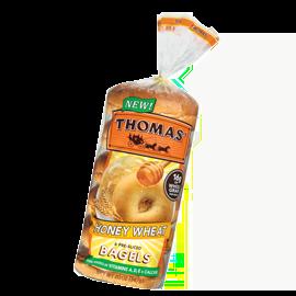 Honey Wheat Bagels Thomas39