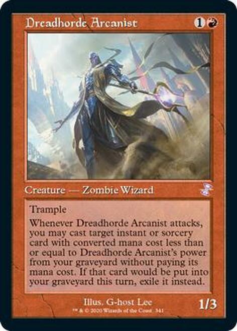 Dreadhorde Arcanist (Timeshifted)