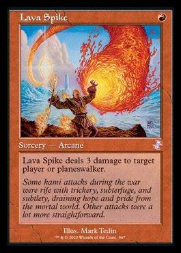 Lava Spike (Timeshifted)