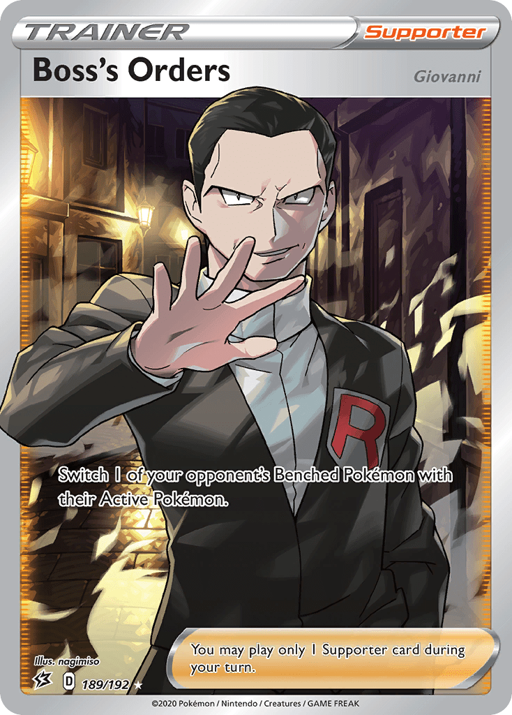 Boss's Orders (Giovanni)
