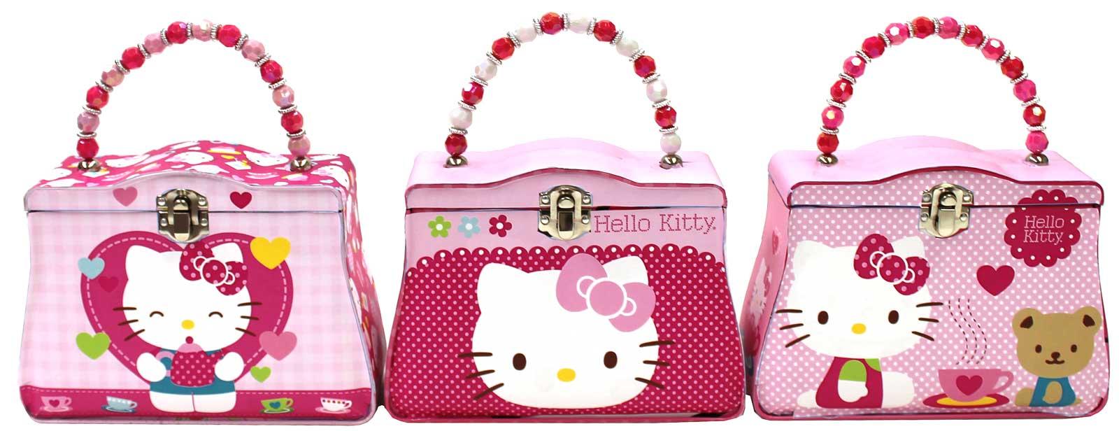 Hello Kitty Tin Box Carry All