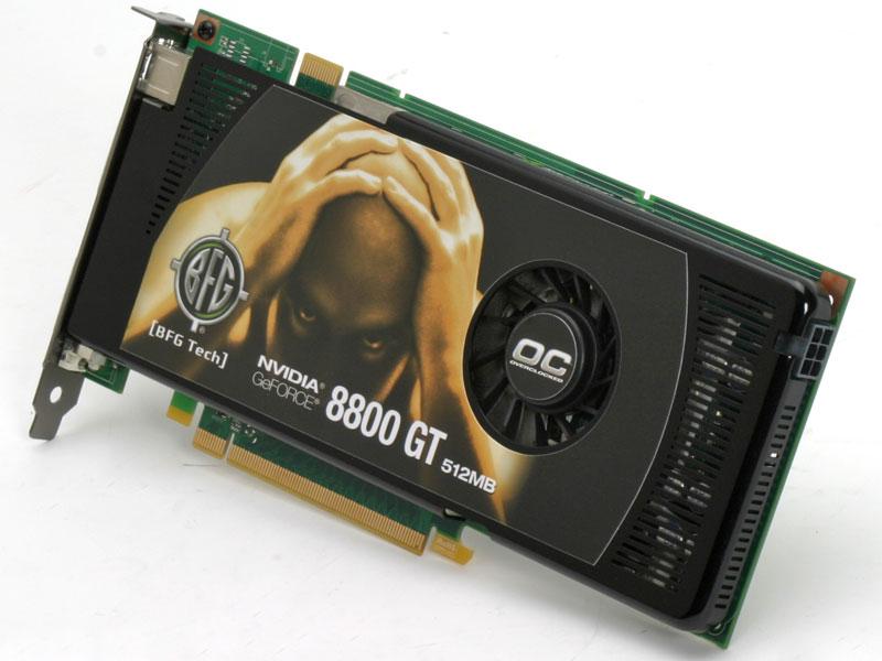 BFG Tech GeForce 8800 GT OC 512MB