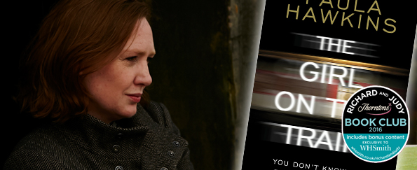 The Girl on the Train Archives   WHSmith Blog Richard and Judy Podcast  Paula Hawkins discusses The Girl on the Train
