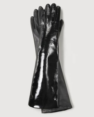 Fownes Women's Patent Leather Gloves