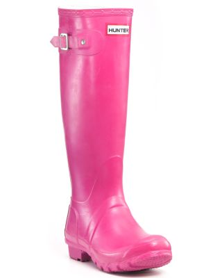 Hunter Women's Original Rain Boots - Fuchsia