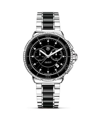 TAG Heuer Formula1 Ceramic Amp Steel Chronograph Watch