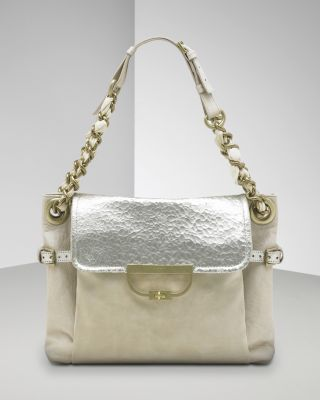 "Mulberry Mix Material ""Jenah"" Shoulder Bag"