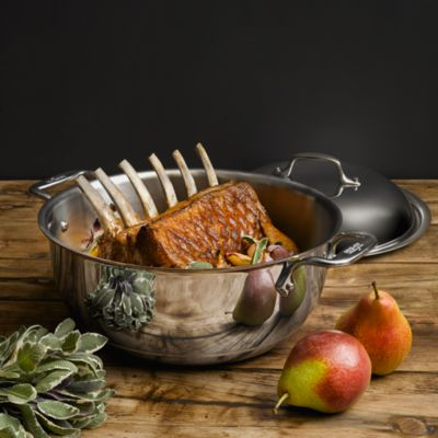 All Clad Copper Core 55 Quart Dutch Oven Bloomingdales