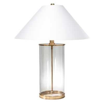Ralph Lauren Glass Cylinder Table Lamp Bloomingdales