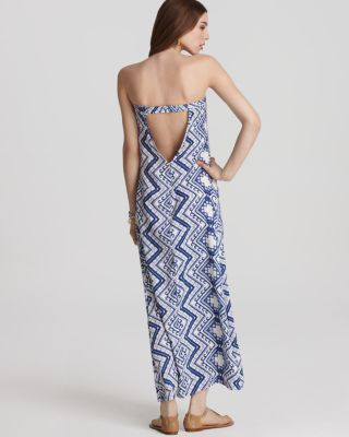 Quotation: Daughters of the Revolution Column Printed Maxi Dress