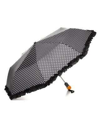 Bloomingdale's Ruffle Dot Umbrella_0