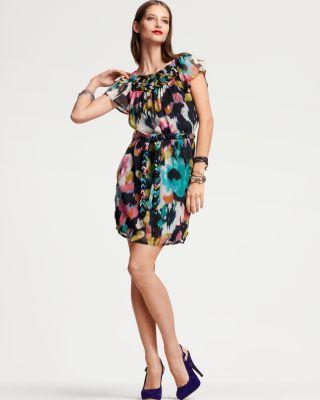 "Quotation: KAS ""Bianca"" Floral Belted Dress"
